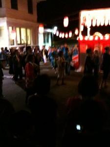 Obon Dancing